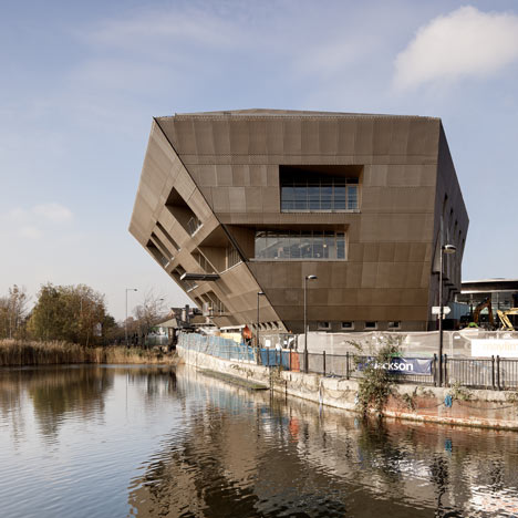 Dezeen_Canada Water Library by CZWG