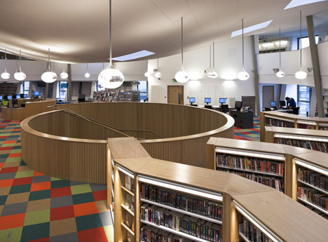 Canada Water Library by CZWG