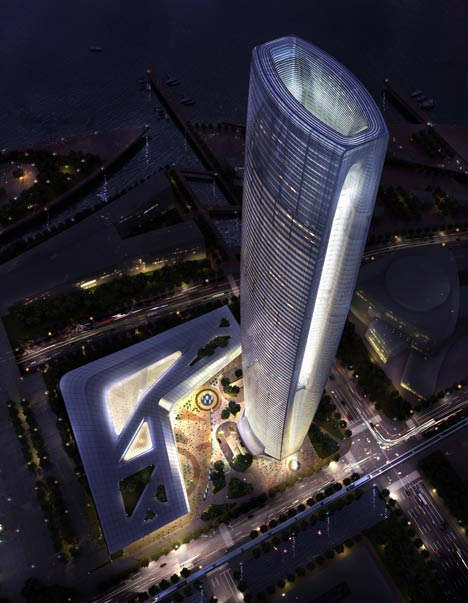 Greenland Group Suzhou Centre by SOM