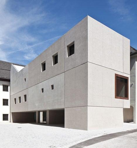 Hauptschule Rattenberg by Daniel Fügenschuh