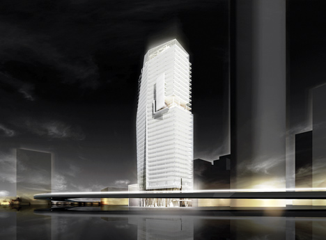 Mitikah Office Tower by Richard Meier and Partners