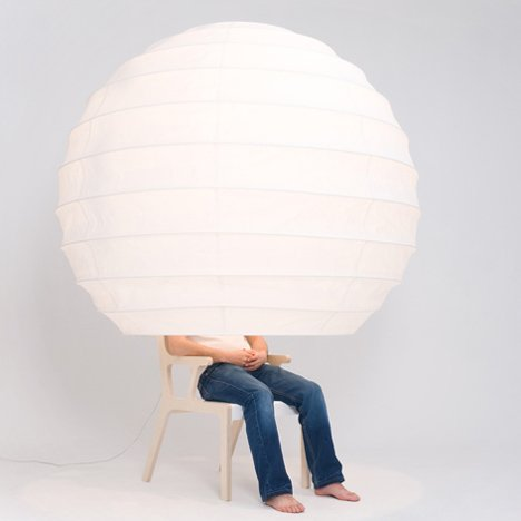 Objet-o chair designed by song seung-yong