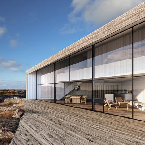 Villa Flattarna by Wingardh Arkitektontor