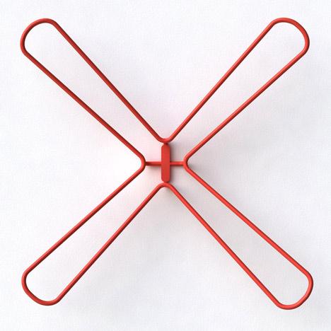 X Hanger by Kfir Schwalb