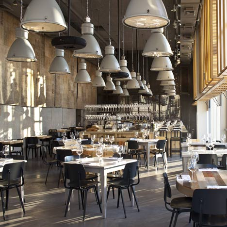 Restaurant Interiors And Architecture Dezeen