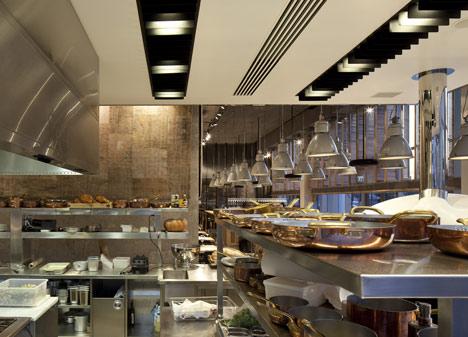 Tel Aviv Restaurant by Baranowitz Kronenberg Architecture