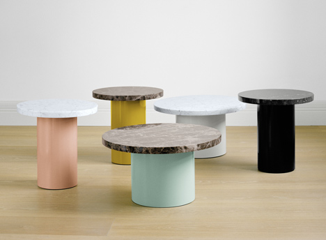 CT09 Enoki side tables by Philipp Mainzer for e15