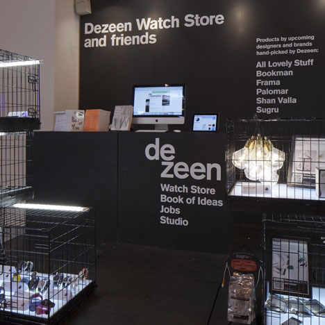 Dezeen Watch Store and Friends at Interiors UK