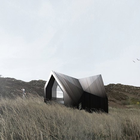 House at Camusdarach Sands by RAW