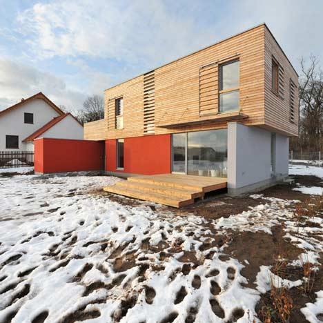 House on the outskirts of Prague by Martin Cenek