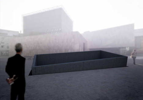 Memorial to all victims by Martin Papcun and Atelier SAD