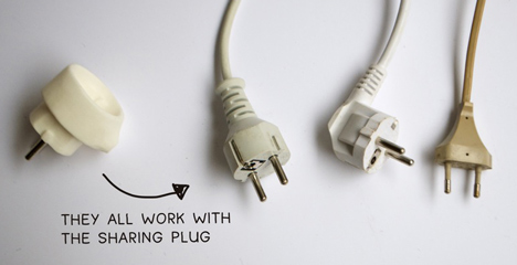 Sharing Plug by Dave Hakkens