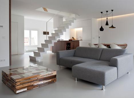 ... Open Plan Living Room. Singel By Laura Alvarez Architecture