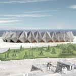 Sports Concert Complex by GMP Architekten