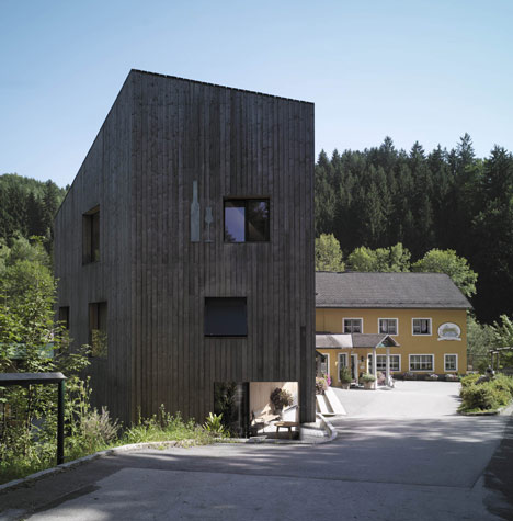 Stoaninger Distillery by Hammerschmid, Pachl, Seebacher – Architekten