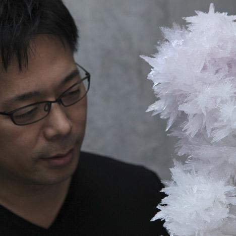 Tokujin Yoshioka receives Creator of the Year award at Maison & Objet