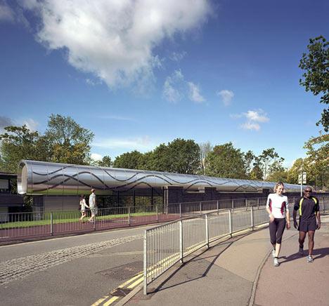 University of Birmingham Steam Bridge by MJP Architects