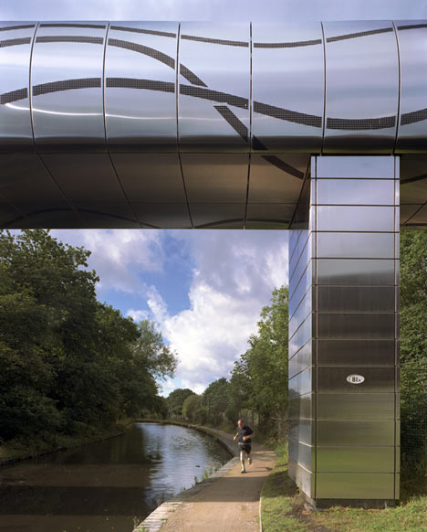 University of Birmingham Steam Bridge by MJP Architects