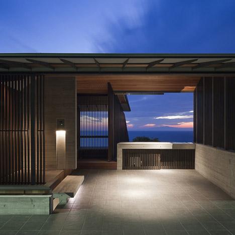 Wind-dyed House by Kazuhiko Kishimoto:acaa