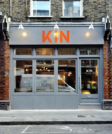 Kin Restaurant by Office Sian and Kai Design
