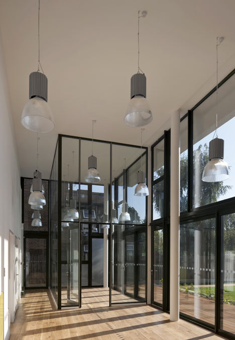 Redbridge Welcome Centre by Peter Barber Architects