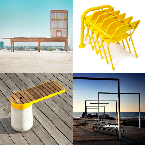 Dezeen archive: outdoor furniture