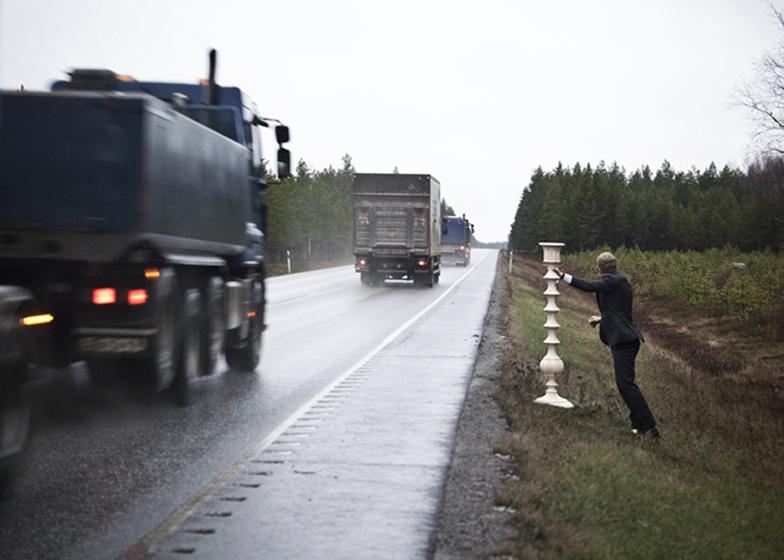 Silent Cargo от SX70 Europe для Анки Гнейб