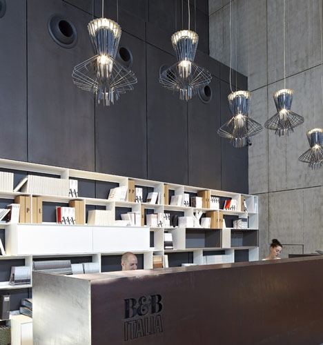 B&B Italia Showroom by Pitsou Kedem