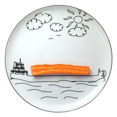 BS Toy plates by Boguslaw Sliwiński