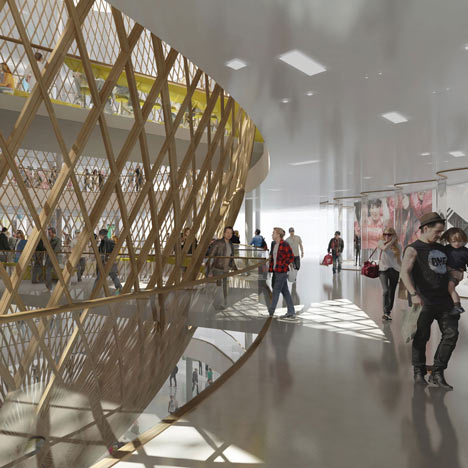 Beaugrenelle Shopping Mall by Agence Search