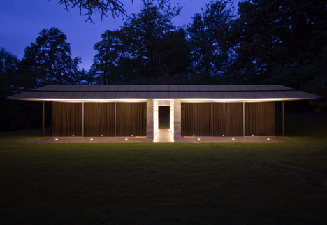 Capel Manor House Guest Pavilion by Ewan Cameron Architects
