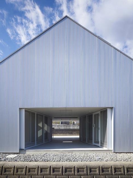 Cloudy House by Takao Shiotsuka