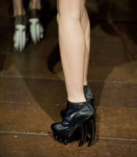 Fang by Iris van Herpen and United Nude