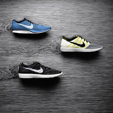Flyknit running footwear <br />by Nike