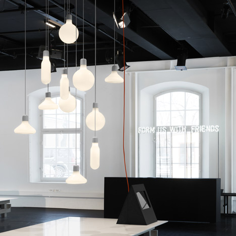 Form Pendants by Form Us with Love for Design House Stockholm