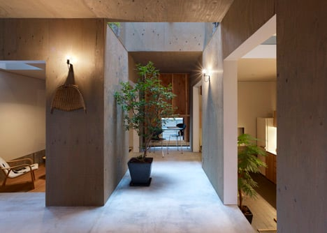 House in Kokubunji by Suppose Design Office