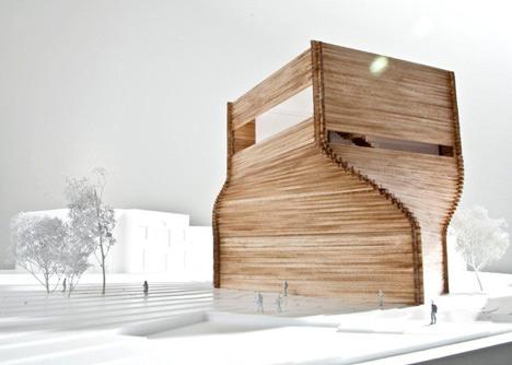 Kimball Art Center by BIG