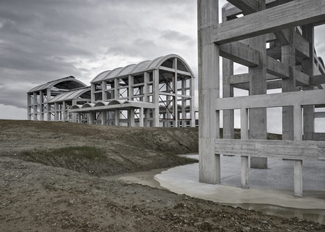 La Cros Factories by Diaz&Diaz Arquitectos