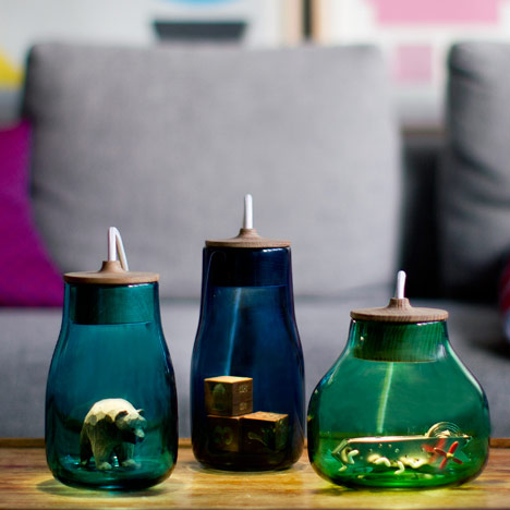 Light Jars by Kristine Five Melvaer