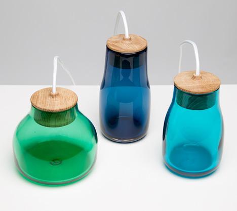 Light Jars by Kristine Five Melvaer