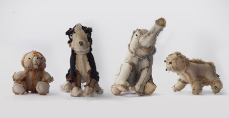 Outsiders plush toys by Atelier Volvox