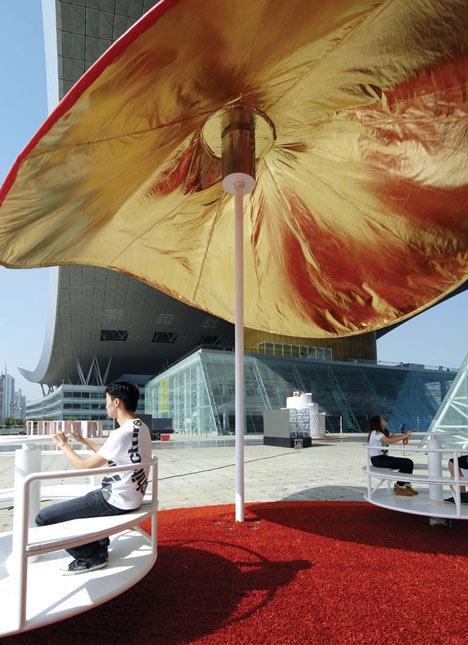 Pabellon ultraligero centrifugo by clavel arquitectos dezeen - Clavel arquitectos ...