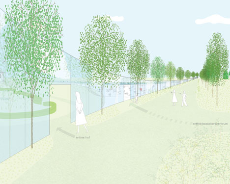 Park Groot Vijversburg by Junya Ishigami + Associates and MAKS