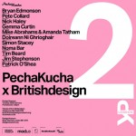 Pecha Kucha at the Design Museum on Tuesday 28 February