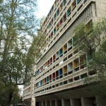 Cité Radieuse by Le Corbusier damaged by fire