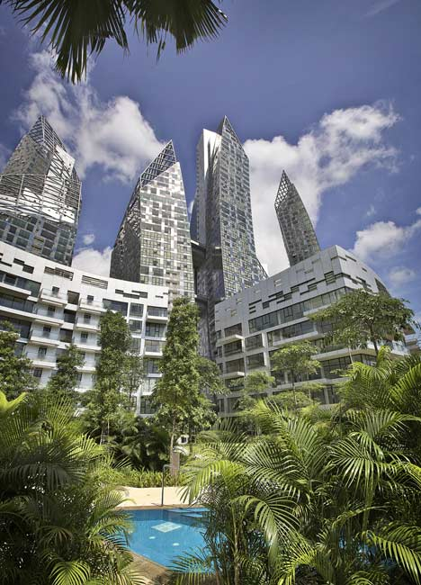 Reflections at Keppel Bay by Daniel Libeskind