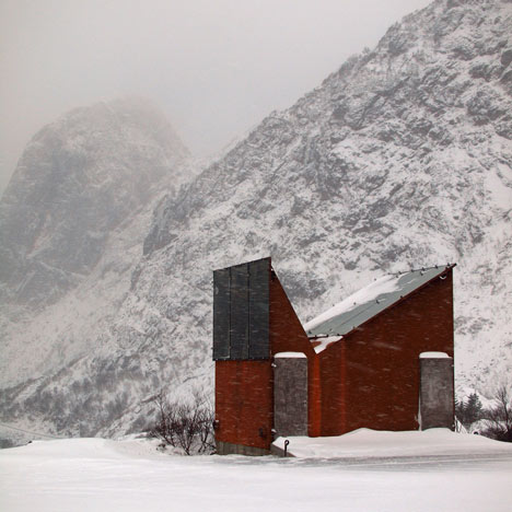 Roadside Reststop Akkarvikodden by Manthey Kula Architects