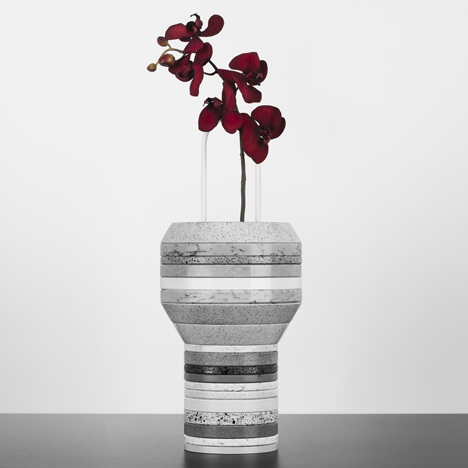 Silestone Slab Vases by Form Us With Love for Cosentino