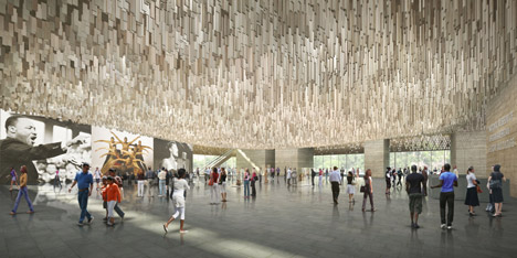 Smithsonian Museum of African American History and Culture by David Adjaye and FAB