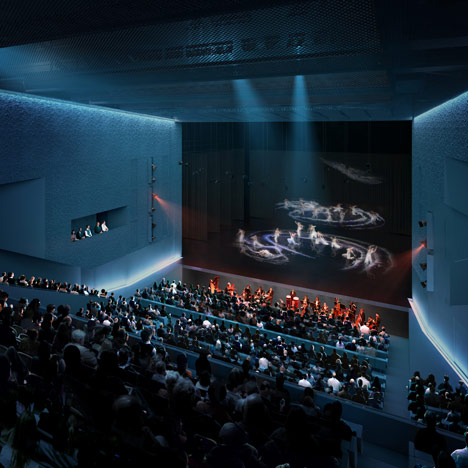 Taipei Performing Arts Centre by OMA